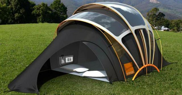Image result for This tent will change the way we think of camping! You have to see this!